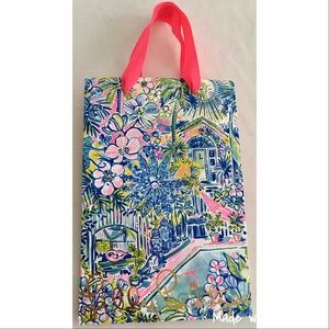 Lilly Pulitzer Shopping Bag Small Paper Artwork
